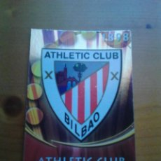 Cromos de Fútbol: MUNDICROMO 2011 NÚM. 190 ESCUDO ATHLETIC CLUB.. Lote 95956827