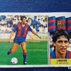 Cromos de Fútbol: 86/87 ESTE. FICHAJE 20 BARCELONA COLOCA LINEKER. Lote 95983163