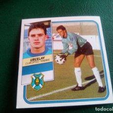 Cromos de Fútbol: URCELAY TENERIFE ED ESTE 89 90 CROMO FUTBOL LIGA 1989 1990 TEMPORADA - SIN PEGAR - 103 BAJA. Lote 96085439