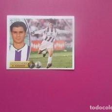 Cromos de Fútbol: TUSCROMOS/ ESTE TEMPORADA 2003/2004/ 03/04/ FERNANDO SALES / VALLADOLID / NUNCA PEGADO. Lote 96085583