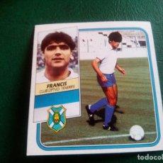Cromos de Fútbol: FRANCIS TENERIFE ED ESTE 89 90 CROMO FUTBOL LIGA 1989 1990 TEMPORADA - SIN PEGAR - 104 COLOCA. Lote 96085855
