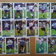 Cromos de Fútbol: LOTE 17 CROMOS FUTBOL CD TENERIFE PANINI 1996 1997 LIGA 96 97 COLOCA SIN PEGAR NUNCA PEGADO. Lote 96085911