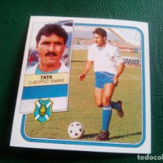 Cromos de Fútbol: TATA TENERIFE ED ESTE 89 90 CROMO FUTBOL LIGA 1989 1990 TEMPORADA - SIN PEGAR - 105 BAJA. Lote 96085939