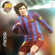 Cromos de Fútbol: 386 LEO MESSI - F.C. BARCELONA - ESTRELLAS - MEGACRACKS MEGA CRACKS 2006 2007 PANINI 06 07. Lote 96142714