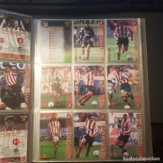 Cromos de Fútbol: MEGAFICHAS PANINI LIGA 2002 2003 LOTE DE CARDS ATLETICO DE MADRID PANINI SPORTS LIGA 02 03. Lote 96637751