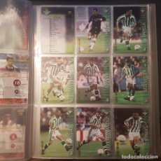 Cromos de Fútbol: MEGAFICHAS PANINI LIGA 2002 2003 LOTE DE CARDS REAL BETIS PANINI SPORTS LIGA 02 03. Lote 96637771
