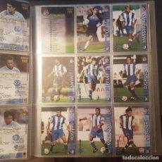 Cromos de Fútbol: MEGAFICHAS PANINI LIGA 2002 2003 LOTE DE CARDS DEPORTIVO DE LA CORUÑA PANINI SPORTS LIGA 02 03. Lote 96637871