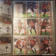 Cromos de Fútbol: MEGAFICHAS PANINI LIGA 2002 2003 LOTE DE CARDS OSASUNA PANINI SPORTS LIGA 02 03. Lote 96638155