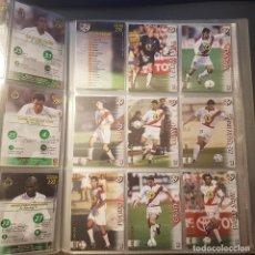 Cromos de Fútbol: MEGAFICHAS PANINI LIGA 2002 2003 LOTE DE CARDS RAYO VALLECANO PANINI SPORTS LIGA 02 03. Lote 96638191