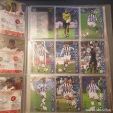 Cromos de Fútbol: MEGAFICHAS PANINI LIGA 2002 2003 LOTE DE CARDS RECREATIVO DE HUELVA PANINI SPORTS LIGA 02 03. Lote 96638295