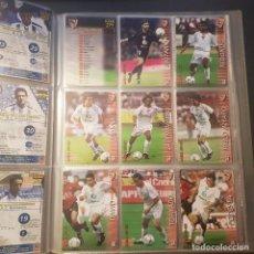 Cromos de Fútbol: MEGAFICHAS PANINI LIGA 2002 2003 LOTE DE CARDS SEVILLA FC PANINI SPORTS LIGA 02 03. Lote 96638315