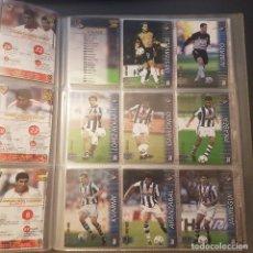 Cromos de Fútbol: MEGAFICHAS PANINI LIGA 2002 2003 LOTE DE CARDS REAL SOCIEDAD PANINI SPORTS LIGA 02 03. Lote 96638319