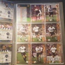 Cromos de Fútbol: MEGAFICHAS PANINI LIGA 2002 2003 LOTE DE CARDS VALENCIA CF PANINI SPORTS LIGA 02 03. Lote 96638335
