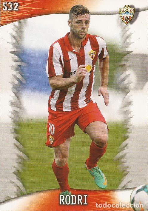 2013-2014 - 532 RODRI - UD ALMERIA - MUNDICROMO OFFICIAL QUIZ GAME - 1 (Coleccionismo Deportivo - Álbumes y Cromos de Deportes - Cromos de Fútbol)