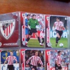 Cromos de Fútbol: ATHLETIC BILBAO MEGACRACKS 05/06 PANINI LOTE 18 CARDS. Lote 97151428