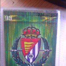 Cromos de Fútbol: 406 ERROR ESCUDO SECURITY VALLADOLID MUNDICROMO QUIZ GAME 2009-2010 09. Lote 97188043