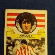 Cromos de Fútbol: D 85/86 ESTE. FICHAJE 18 AT. MADRID SETIEN QUIQUE II VERSION PINTADO. Lote 97259003