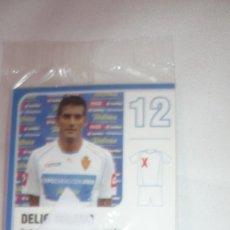Cromos de Fútbol: DELIO TOLEDO EX-JUGADOR DEL REAL ZARAGOZA CROMO NUEVO. Lote 97357107