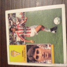 Cromos de Fútbol: CROMO EDICIONES ESTE TEMPORADA LIGA 1992/1993 92/93 JUANMA SPORTING GIJON SIN PEGAR BAJA. Lote 97467143