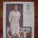 Cromos de Fútbol: SANTIAGO BERNABEU ( REAL MADRID ) - POSTAL DE CHOCOLATES AMATLLER EN HISTORIA GRAFÍCA DEL SIGLO XX . Lote 97723571