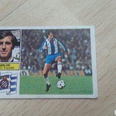 Cromos de Fútbol: ESTE LIGA 82/83 CARLOS...