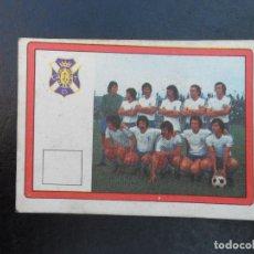 Cromos de Fútbol: ALINEACION DEL TENERIFE ALBUM VULCANO LIGA 1976 - 1977 ( 76 - 77 ). Lote 98000739