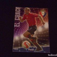 Cromos de Fútbol: 458 PUÑAL, OSASUNA, MATE PUNTAS CUADRADAS, FICHAS DE LA LIGA 2009 MUNDICROMO. Lote 98021439