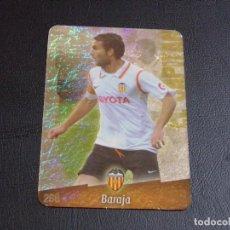 Cromos de Fútbol: 268 BARAJA, VALENCIA, JASPEADO PUNTAS REDONDAS, FICHAS DE LA LIGA 2009 MUNDICROMO. Lote 98025087
