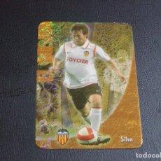 Cromos de Fútbol: 270 SILVA, VALENCIA, JASPEADO PUNTAS REDONDAS, FICHAS DE LA LIGA 2009 MUNDICROMO. Lote 98025127