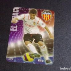 Cromos de Fútbol: 269 VILLA, VALENCIA, MATE PUNTAS REDONDAS, FICHAS DE LA LIGA 2009 MUNDICROMO. Lote 98028035