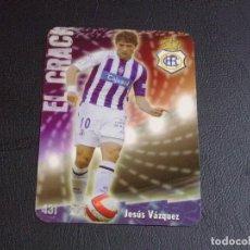 Cromos de Fútbol: 431 JESUS VAZQUEZ, RECREATIVO HUELVA, MATE PUNTAS REDONDAS, FICHAS DE LA LIGA 2009 MUNDICROMO. Lote 98028503