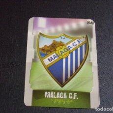 Cromos de Fútbol: 487 ESCUDO MALAGA, MATE PUNTAS REDONDAS, FICHAS DE LA LIGA 2009 MUNDICROMO. Lote 98028671
