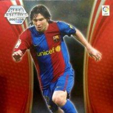 Cromos de Fútbol: 387 LEO MESSI - F.C. BARCELONA - ESTRELLAS - MEGACRACKS MEGA CRACKS 2007 2008 PANINI 07 08. Lote 142458996
