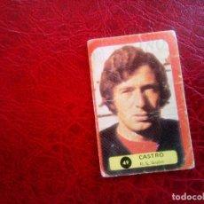 Cromos de Fútbol: CASTRO SPORTING GIJON ED GRAFIMUR 75 76 CROMO FUTBOL LIGA 1975 1976 - SIN PEGAR - 12 / 49. Lote 98133879