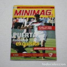 Cromos de Fútbol: MINI REVISTA MINIMAG, LIGA DE FUTBOL 07 08, Nº 121 SEVILLA F.C. SEVILLISTAS, PUERTA, 1º. Lote 98152583