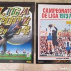 Cromos de Fútbol: 2 ALBUMES FUTBOL ESTE FACSIMIL -LIGA 1973/74, 2003/2004. Lote 98194583