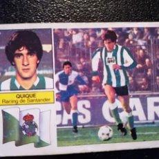 Cromos de Fútbol: ESTE 82/83 1982/83 QUIQUE CAMISETA RAYADA RECUPERADO DEL ALBUM. Lote 98217619