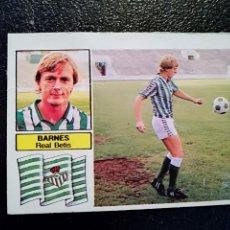 Cromos de Fútbol: ESTE 82/83 1982/83 BARNES FICHAJE 28 BIS RECUPERADO DEL ALBUM. Lote 98217711