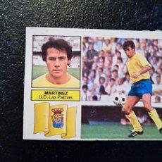 Cromos de Fútbol: ESTE 82/83 1982/83 ALBERTO MARTINEZ COLOCA RECUPERADO DEL ALBUM. Lote 98217755