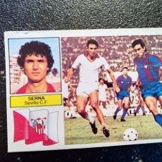 Cromos de Fútbol: ESTE 82/83 1982/83 SERNA COLOCA RECUPERADO DEL ALBUM. Lote 98217811