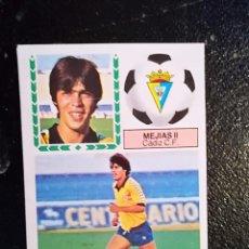 Cromos de Fútbol: ESTE 83/84 1983/84 MEJIAS II VERSION MEDIAS BLANCAS RECUPERADO DEL ALBUM. Lote 98218203
