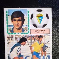 Cromos de Fútbol: ESTE 83/84 1983/84 ESCOBAR VERSION DIFICIL RECUPERADO DEL ALBUM. Lote 98218359