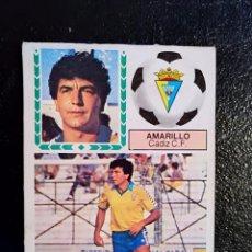 Cromos de Fútbol: ESTE 83/84 1983/84 AMARILLO VERSION DIFICIL RECUPERADO DEL ALBUM. Lote 98218395