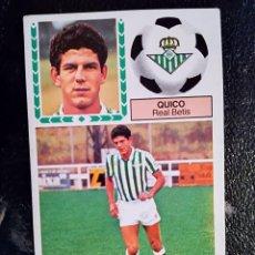 Cromos de Fútbol: ESTE 83/84 1983/84 COLOCA QUICO RECUPERADO DEL ALBUM. Lote 98218447