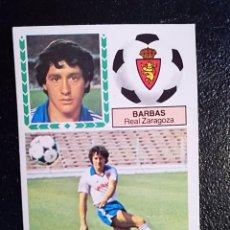 Cromos de Fútbol: ESTE 83/84 1983/84 BARBAS VERSION DIFICIL RECUPERADO DEL ALBUM. Lote 98218567