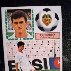 Cromos de Fútbol: ESTE 83/84 1983/84 FICHAJE Nº36 FERNANDO RECUPERADO DEL ALBUM. Lote 98218727