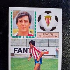 Cromos de Fútbol: ESTE 83/84 1983/84 FICHAJE Nº42 FRANCH RECUPERADO DEL ALBUM. Lote 98218771