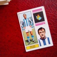 Cromos de Fútbol: MARTINEZ REAL SOCIEDAD ED FHER DISGRA 74 75 CROMO FUTBOL LIGA 1974 1975 - SIN PEGAR - 46. Lote 98438735