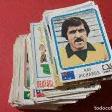 Cromos de Fútbol: LOTAZO CROMOS FUTBOL MUNDIAL MUNICH 74 NUNCA PEGADOS FIGURINI PANINI. Lote 98523371