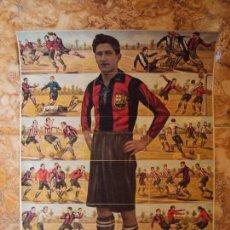 Cromos de Fútbol: (F-170957)COLECCION COMPLETA HOJA SIN RECORTAR DE SAGI-BARBA- F.C.BARCELONA - CHOCOLATES JAIME BOIX. Lote 98739115